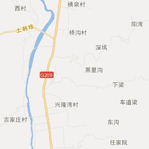 方山峪口旅游地图_中国电子地图网图片