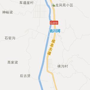 吕梁方山旅游地图_中国电子地图网图片