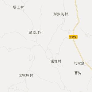 汾西永安旅游地图_中国电子地图网