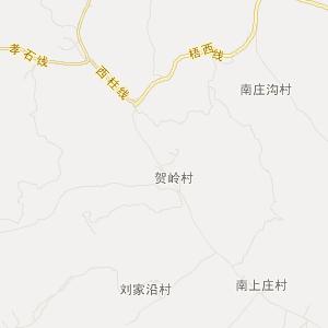 山西旅游地图 吕梁旅游地图