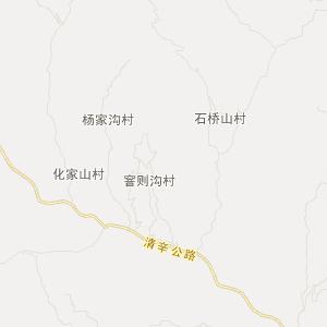 陕西交通地图 榆林交通地图