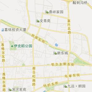 东胜塔拉壕交通地图_中国电子地图网