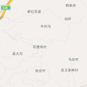 陕西榆林神木地图