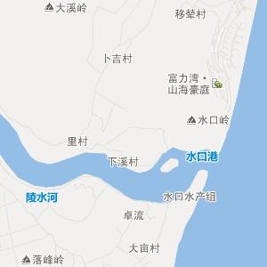 海南陵水在线交通地图