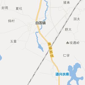 海南旅游地图 海口旅游地图