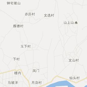 海南定安旅游地图_定安在线旅游图