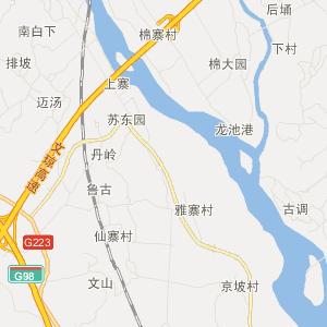 琼海中原交通地图_中国电子地图网