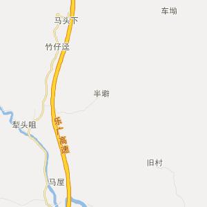 清新飞来峡旅游地图_中国电子地图网