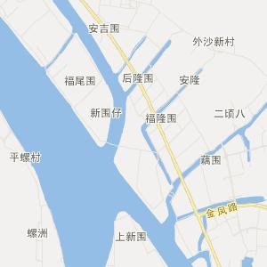 中山神湾旅游地图_中国电子地图网