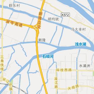中山市港口镇交通地图