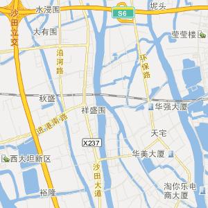 广东交通地图 东莞交通地图