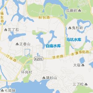 东莞厚街交通地图_中国电子地图网