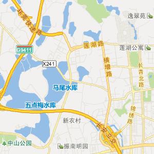 东莞长安旅游地图_中国电子地图网