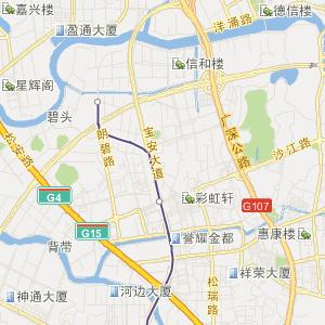 广东旅游地图 东莞旅游地图