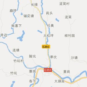 广宁江屯旅游地图_中国电子地图网图片