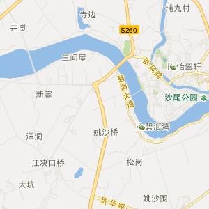 肇庆市四会市交通地图