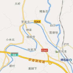 海南省白沙环城路地图