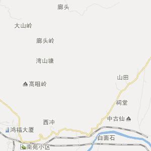广东省旅游地图 韶关市旅游地图