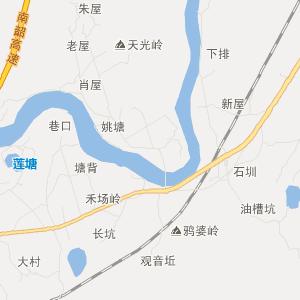 = 南雄古市交通地图 =