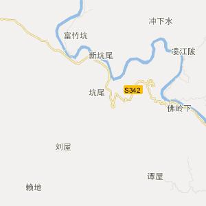 南雄帽子峰交通地图