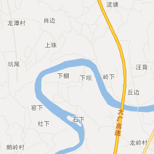 江西旅游地图 赣州旅游地图