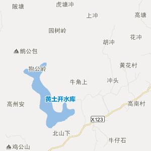 上栗赤山旅游地图