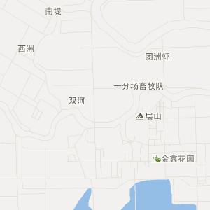 钱粮湖镇地图_君山区钱粮湖镇三维电子地图和邮编