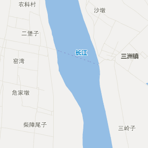 监利县乡镇公路地图