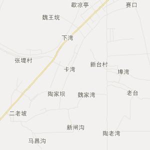 湖北省旅游地图 仙桃市旅游地图