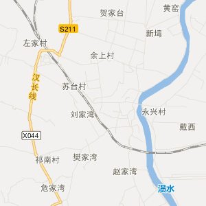 汉渝铁路横卧其中