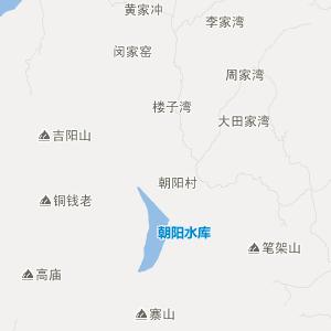 广水太平交通地图_中国电子地图网图片