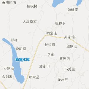 湖北省交通地图 黄冈市交通地图