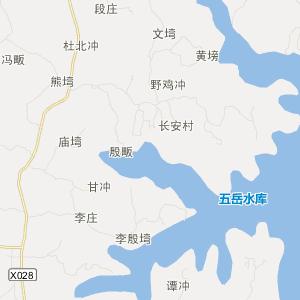 光山县南向店乡旅游地图图片
