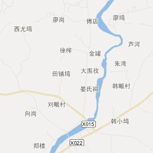 光山晏河交通地图_中国电子地图网图片
