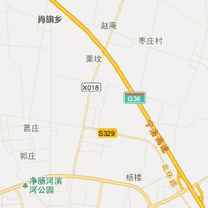 平顶山市宝丰县旅游地图