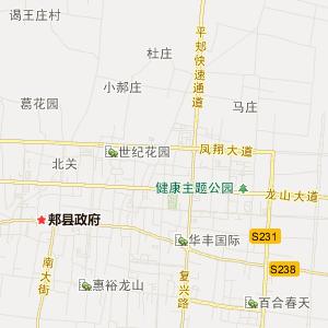 平顶山市郏县旅游地图查询