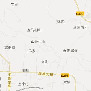 平顶山市旅游地图 卫东区旅游地图