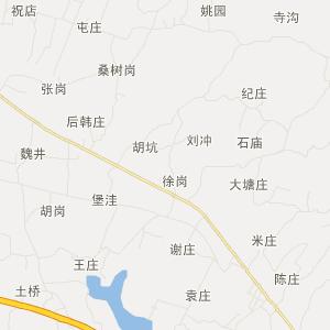 泌阳县马谷田镇旅游地图