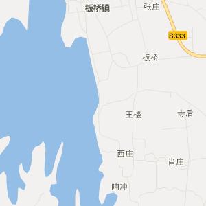 泌阳板桥交通地图_中国电子地图网