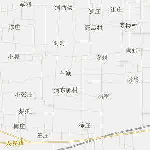 河南省交通地图 漯河市交通地图