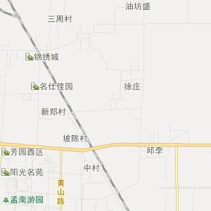 河南旅游地图 漯河旅游地图