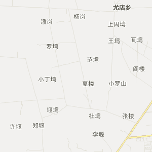 信阳市罗山县交通地图