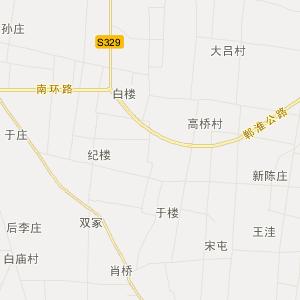 淮阳县城关镇交通地图