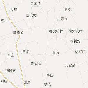 平顶山市鲁山县旅游地图