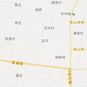 社旗唐庄旅游地图