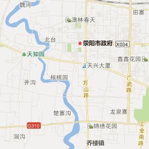 河南旅游地图 郑州旅游地图