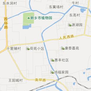新乡市卫宾区地图