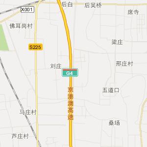 许昌市长葛市交通地图