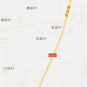 尉氏庄头交通地图_中国电子地图网