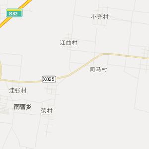 河南省旅游地图 开封市旅游地图